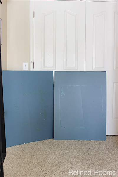 Create paint sample boards to test paint colors @ refinedroomsllc.com