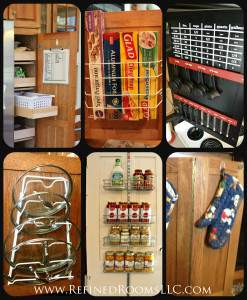 Kitchen Door Organization