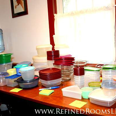 ORGANIZING PLASTIC WARE: A STEP-BY-STEP GUIDE