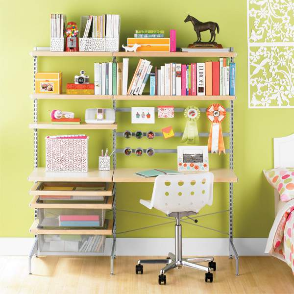 Elfa freestanding kids desk @ refinedroomsllc.com