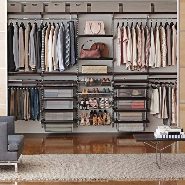 Elfa Walk In Closet Storage System Refinedroomsllc