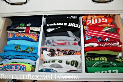 Drawer Dividers made a professional organizer's list of Top 10 organizing tools @ refinedroomsllc.com