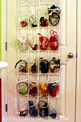 Over Door Shoe Organizers made Professional Organizer's List of Top 10 organizing tools @ refinedroomsllc.com