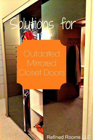Mirrored Closet Doors Cover