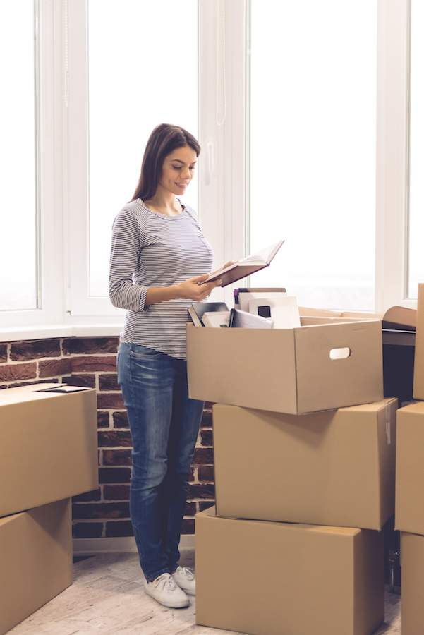 Prepare for dorm room living by packing like items together on the front end to make the unpacking job super easy. Learn more College Prep tips at the Refined Rooms Blog