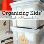 Learn a simple system for organizing school memorabilia at the Refined Rooms blog!