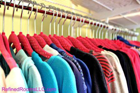 Slim Profile Hangers make a professional organizers Top Ten list of organizing products @ refinedroomsllc.com