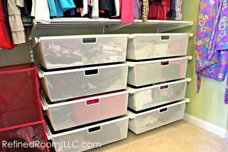 Organizing The Organizer Bedroom Closet Makeover Reveal