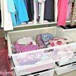 Organizing the Organizer:  Bedroom Closet Makeover Reveal