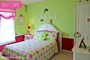 Bedroom Makeover Reveal