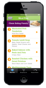 Emeals Meal Planning app