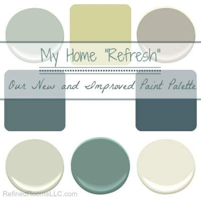 OUR NEW & IMPROVED COLOR PALETTE – MY HOME REFRESH