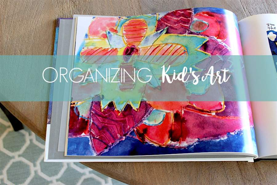 Looking for tips for organizing kids' art? Check out this post at Refined Rooms