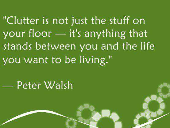 Peter Walsh Quote