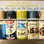 My Home Refresh: Breathing New Life into Old Decor with Spray Paint