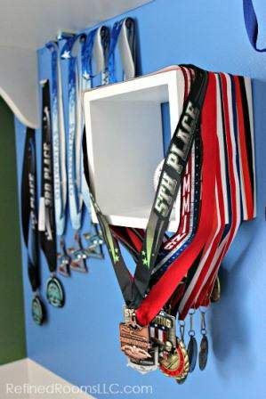 Organizing and Storing Sports Medals @RefinedRoomsLLC.com