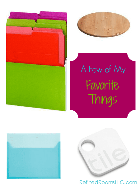 A round up of current organizing product favorites @ RefinedRoomsLLC.com