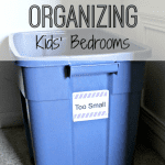 TWO SIMPLE TOOLS FOR ORGANIZING KIDS BEDROOMS