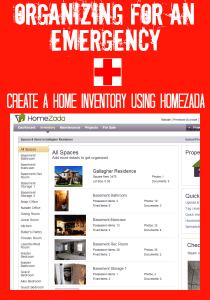 Organizing for Emergencies @ RefinedRoomsLLC.com