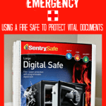 Organizing for an Emergency: Using a Fire Safe to Protect Vital Documents