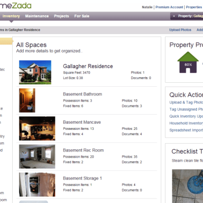 HOW TO CREATE A HOME INVENTORY WITH HOMEZADA
