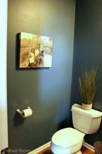 Home Redesign Powder Room Reveal @ refinedroomsllc.com