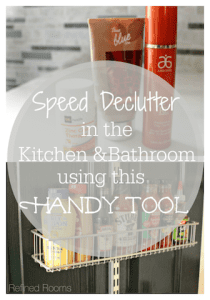Use Expiration Dates as a Speed Declutter Tool in the Kitchen and Bath @ RefinedRoomsLLC.com