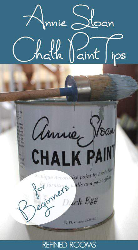 Curious about chalk paint? Be sure to read these Annie Sloan chalk paint tips for beginners BEFORE you attempt your first chalk painting project | #chalkpaint #AnnieSloan #chalkpainttips #AnnieSloanchalkpaint #DIY