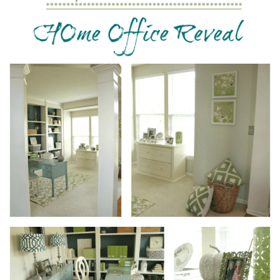 HOME OFFICE MAKEOVER REVEAL – MY HOME REFRESH