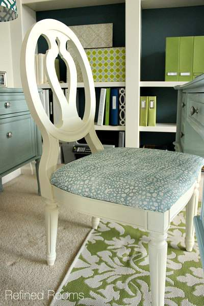 decluttering your home office - Home Office Redesign Reveal @ Refinedroomsllc.com
