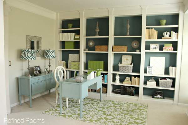 Home Office Redesign Reveal @ Refinedroomsllc.com
