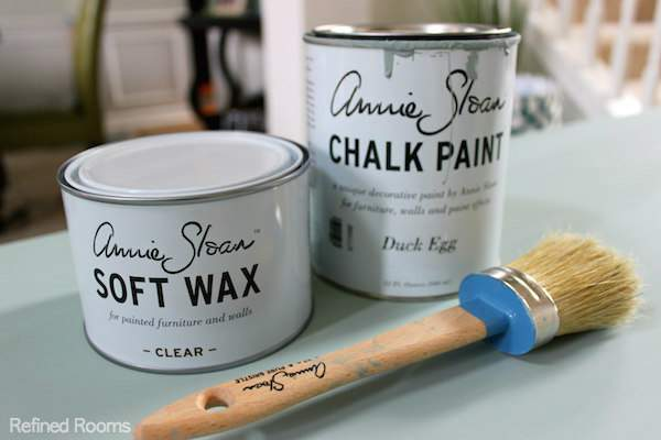 Annie Sloan Chalk Paint tips for beginners via the Refined Rooms blog