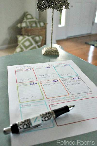 Making Lists to Eliminate Mental Clutter