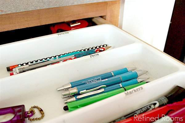 Organize your junk drawer over holiday break @ refinedroomsllc.com
