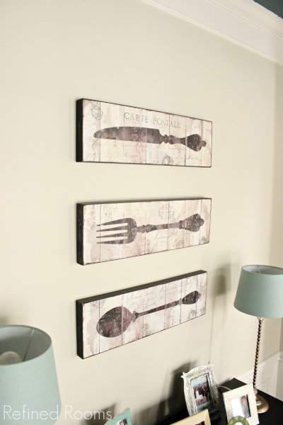 Dining Room Reveal World Market Wall Art