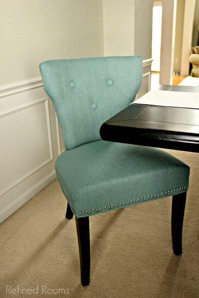 Dining Room Reveal upholstered chair
