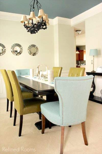 our dining room makeover reveal @ refinedroomsllc.com