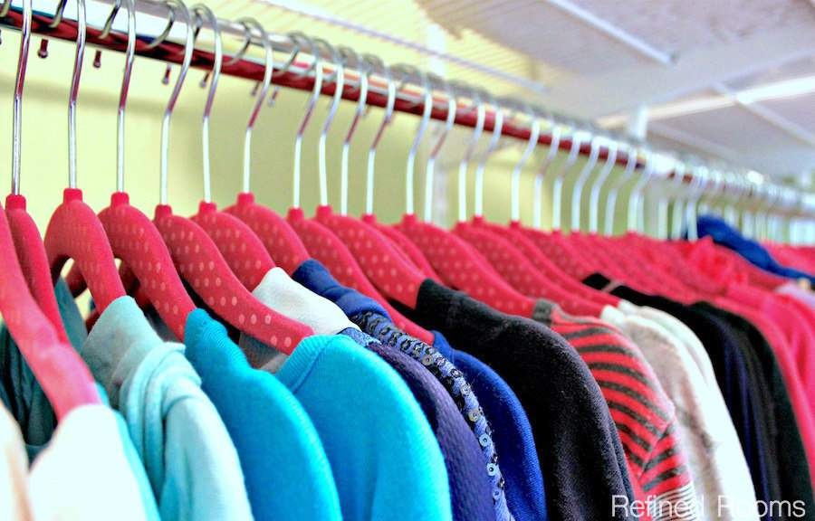 Check out these Kids' Bedroom Closet Organization tips & join the Organize and Refine Your Home Challenge via Refined Rooms