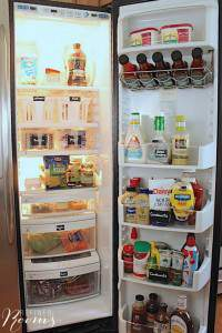 Check out these kitchen food storage organization tips on the Organize & Refine Your Home Challenge on the Refined Rooms blog
