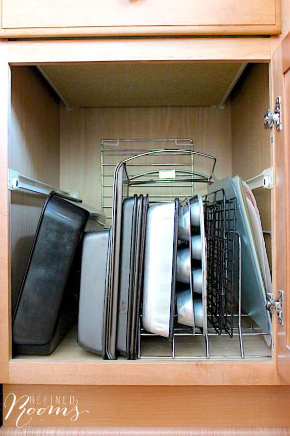 Kitchen Cabinet Organization Tips, Ideas and Inspiration
