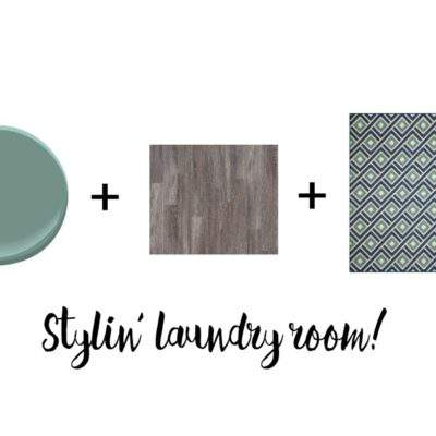 LAUNDRY ROOM REFRESH: THE PLAN