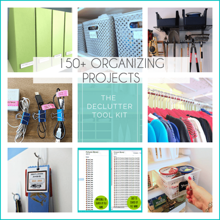 Check out this cool collection of 150+ organizing projects, tips, and ideas at the Refined Rooms blog