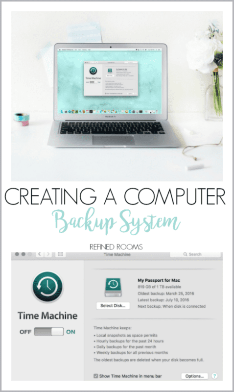 how to create a backup for computer