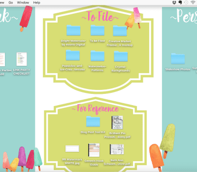 SUMMER DESKTOP ORGANIZATION WALLPAPERS! {FREE DOWNLOAD}