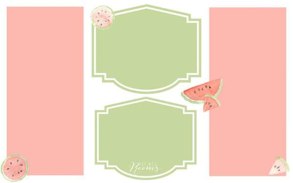 Summer Desktop Organizer Watermelon No Labels Blog image WM