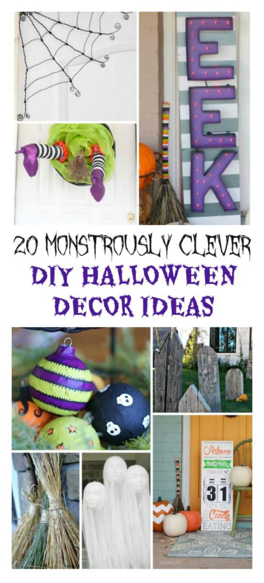 20 monstrously clever DIY Halloween decor ideas to spruce up your home for this most awesome of holidays