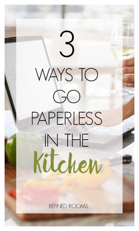 Want to learn how you can go paperless in the kitchen? Here's 3 areas to focus on, as well as as a resource list of digital food management tools to help!