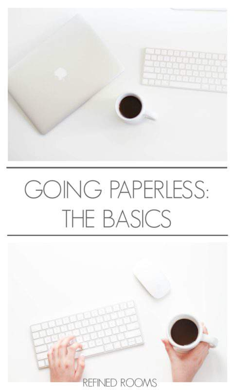 going-paperless-the-basics-pinterest