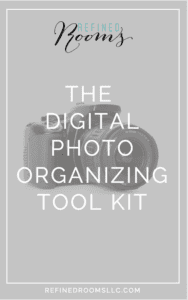The Digital Photo Organizing Tool Kit is a great resource for getting your digital photos organized once and for all!