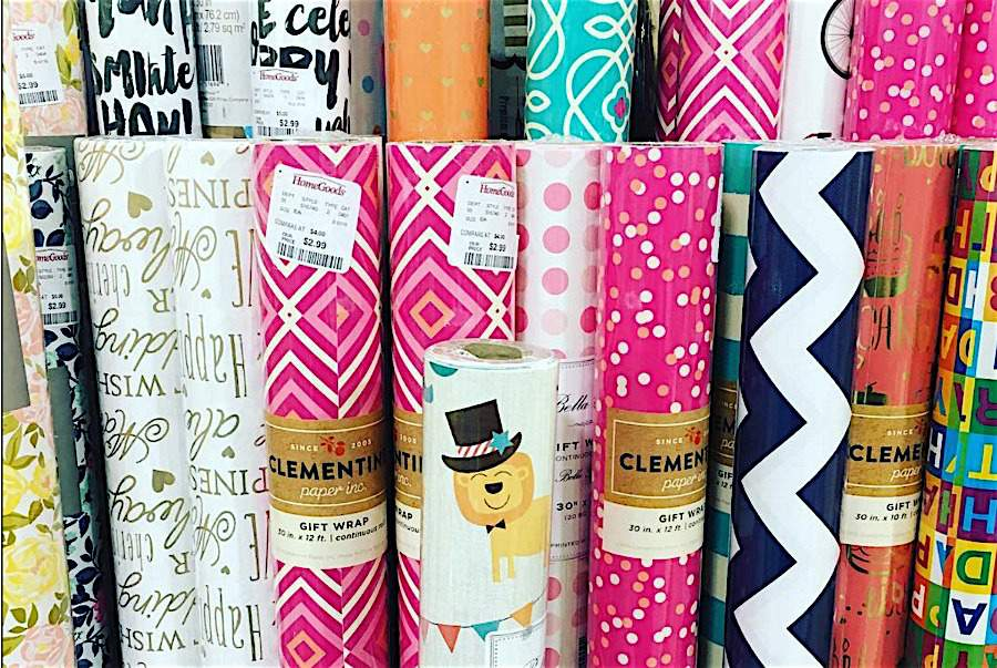 Got gift wrap supplies? You know how quickly they can evolve into a mangled mess. Check out these gift wrap organizing products to tame your supplies at Refined Rooms